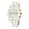Mens White Ceramic Watch KK-20005-02